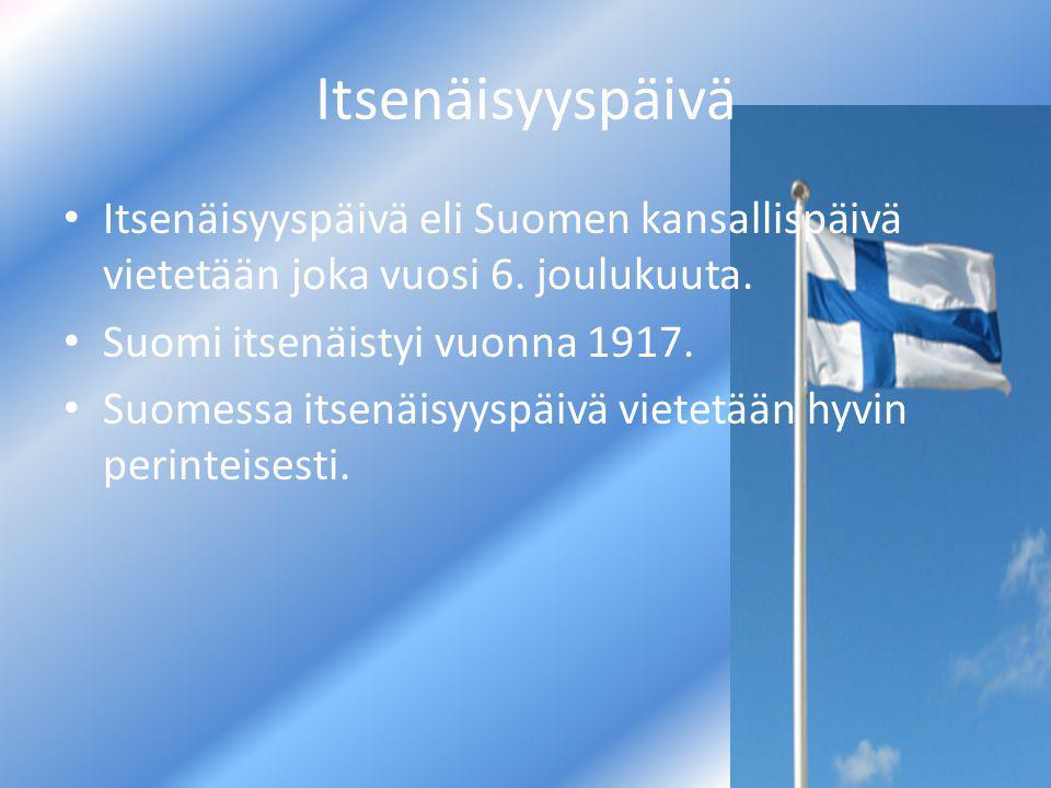 Suomen Juhlapäivät. - ppt lataa