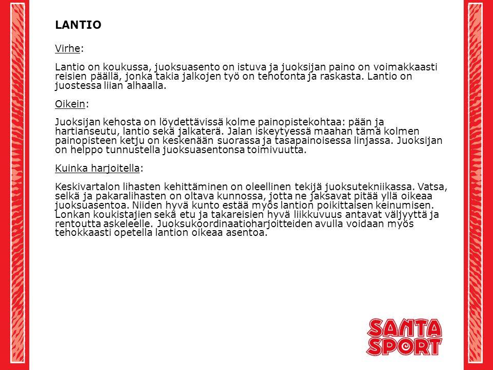 LANTIO Virhe: