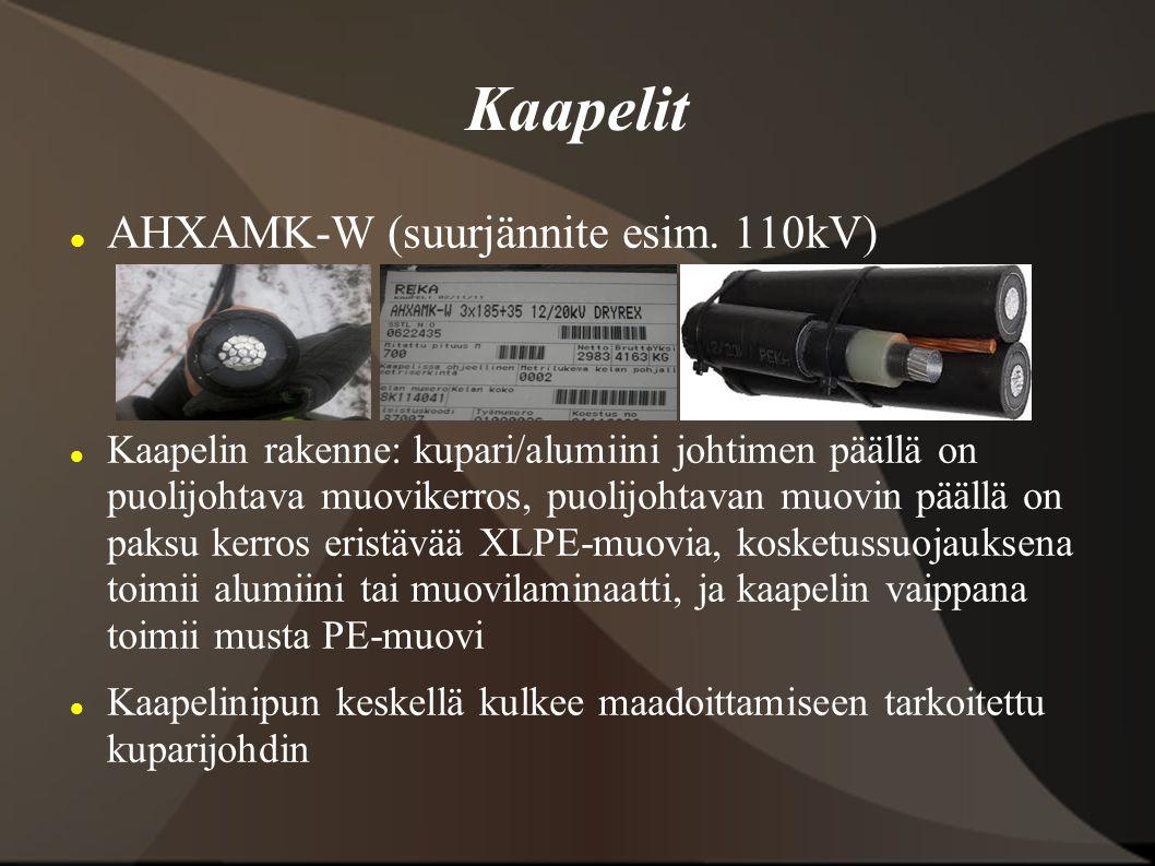 Kaapelit AHXAMK-W (suurjännite esim. 110kV)