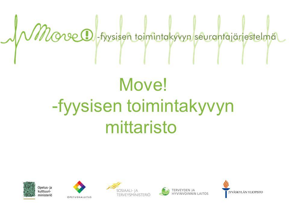 Move! -fyysisen toimintakyvyn mittaristo
