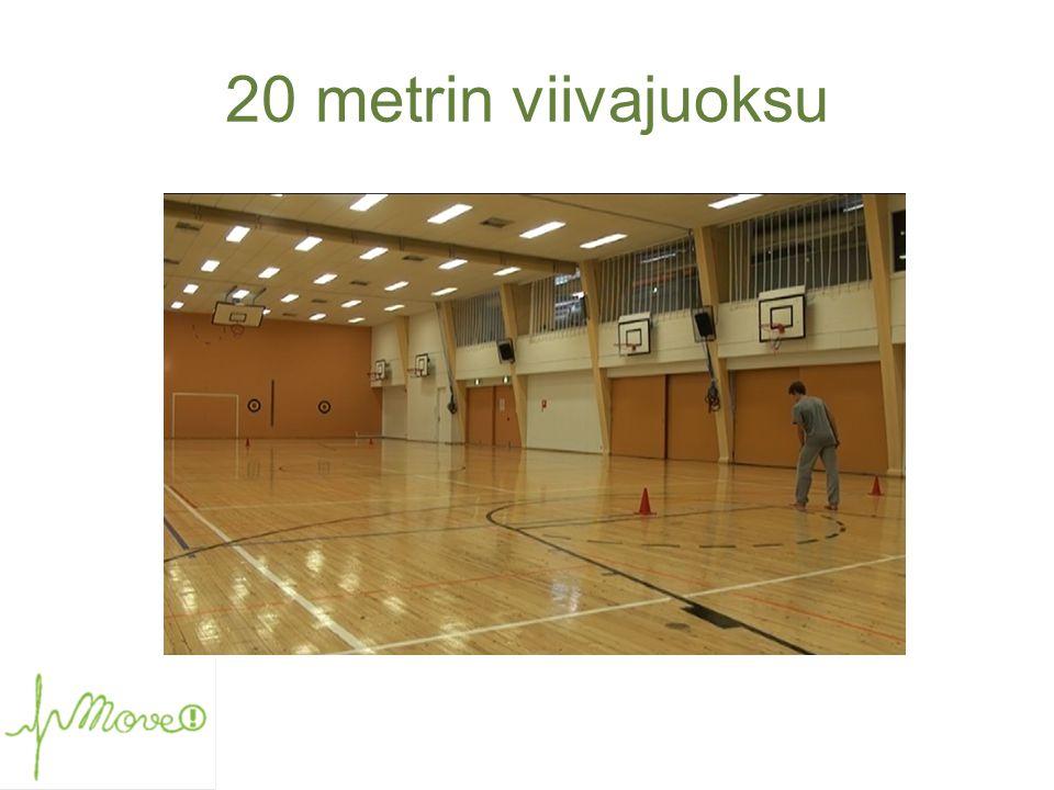 20 metrin viivajuoksu