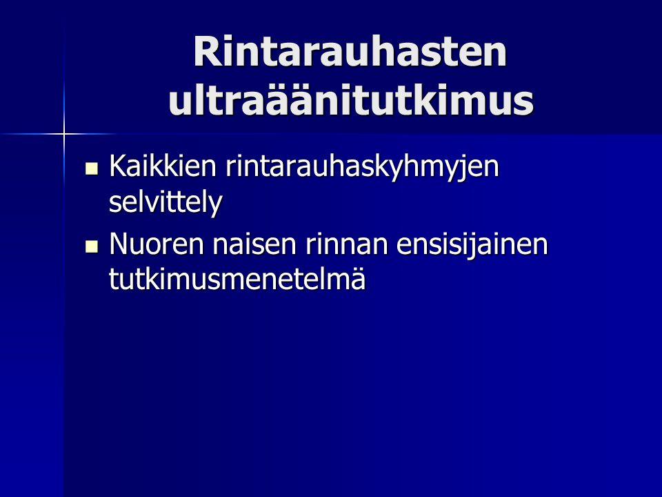 Rintarauhasten ultraäänitutkimus