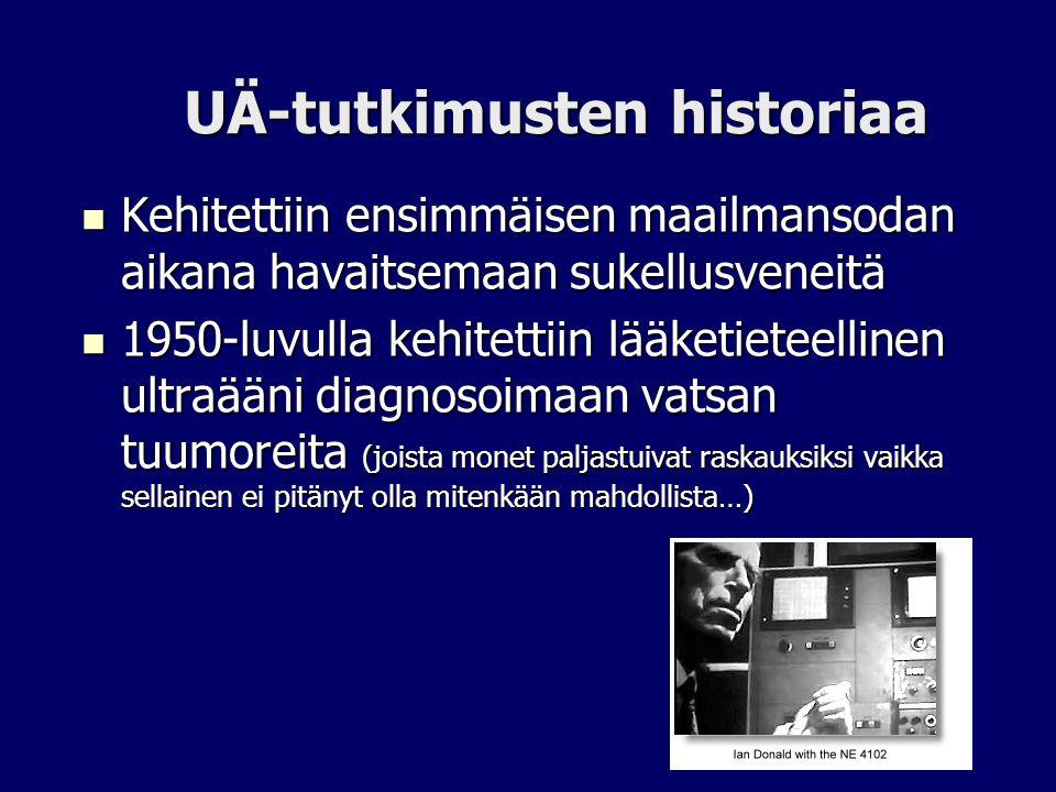 UÄ-tutkimusten historiaa