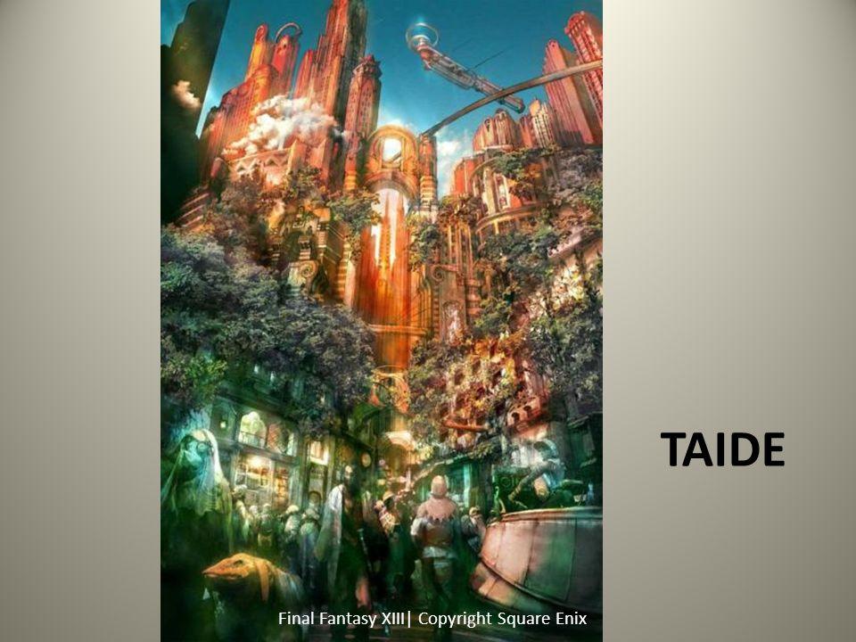 Taide Final Fantasy XIII| Copyright Square Enix