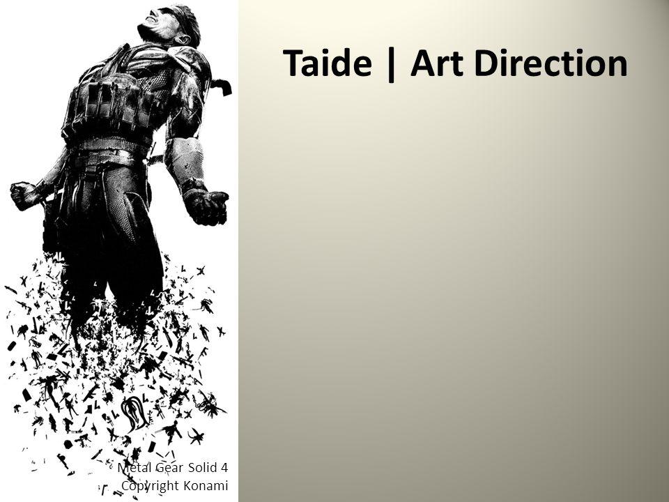 Taide | Art Direction Metal Gear Solid 4 Copyright Konami