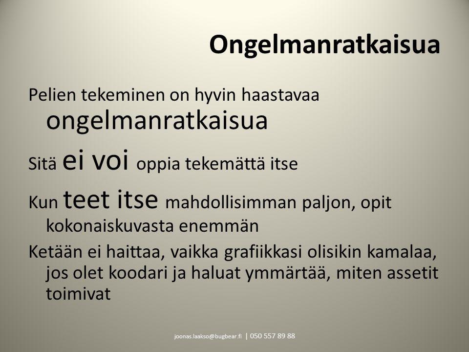 joonas.laakso@bugbear.fi | 050 557 89 88