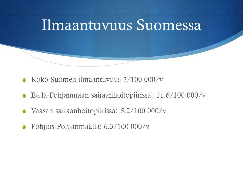 Ilmaantuvuus Suomessa
