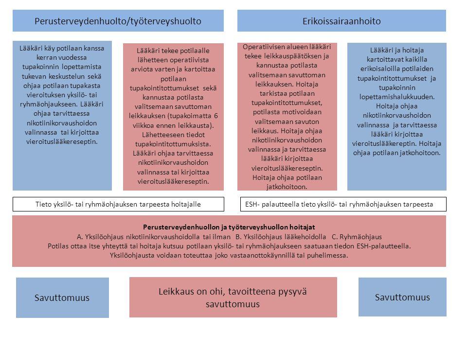 Perusterveydenhuollon ja työterveyshuollon hoitajat