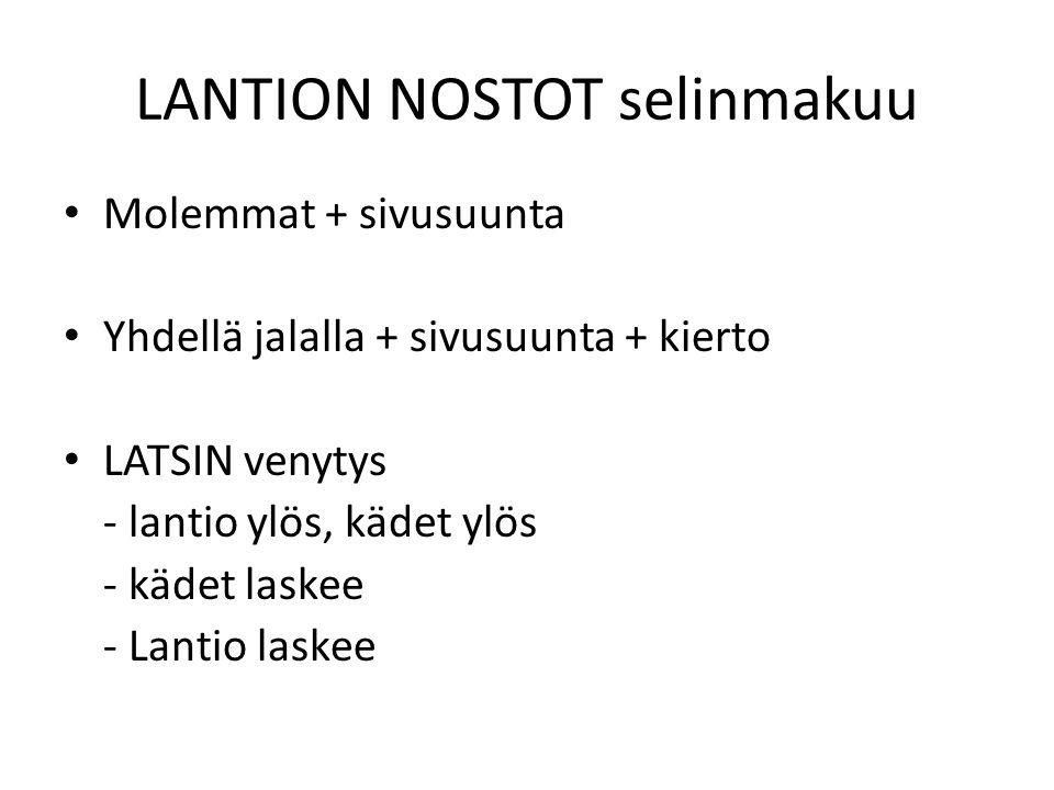 LANTION NOSTOT selinmakuu