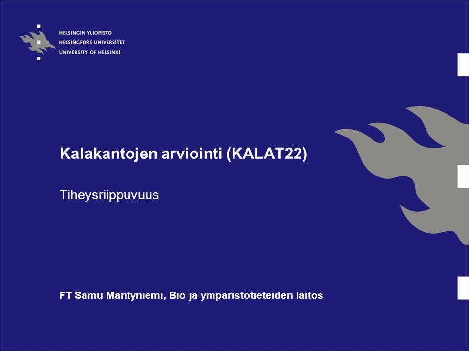 Kalakantojen arviointi (KALAT22)