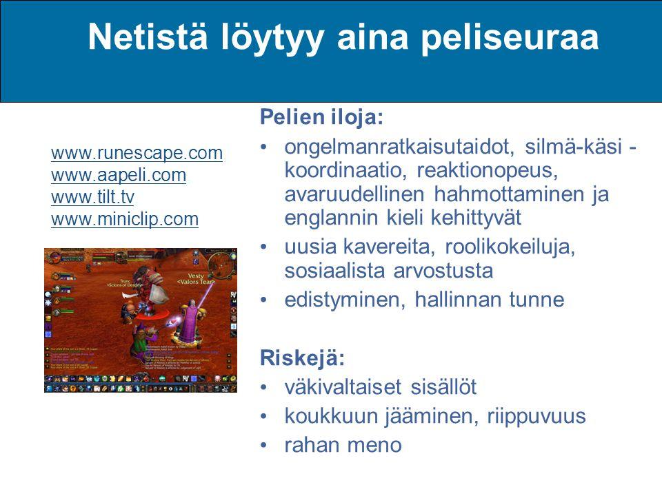 tietokonepelit netistä Oulu