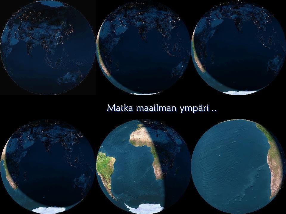 Matka maailman ympäri ..