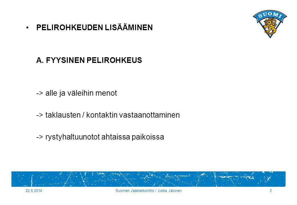 Suomen Jääkiekkoliitto / Jukka Jalonen