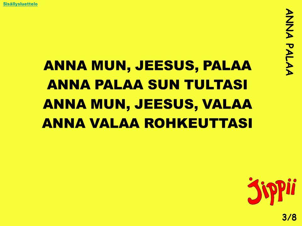 ANNA VALAA ROHKEUTTASI