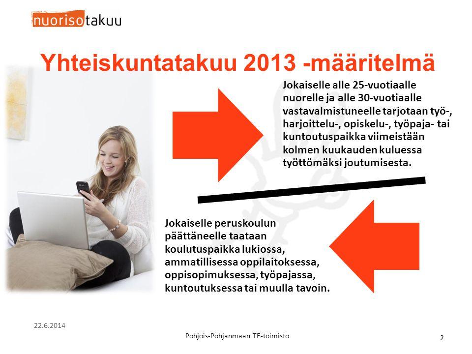 Yhteiskuntatakuu 2013 -määritelmä