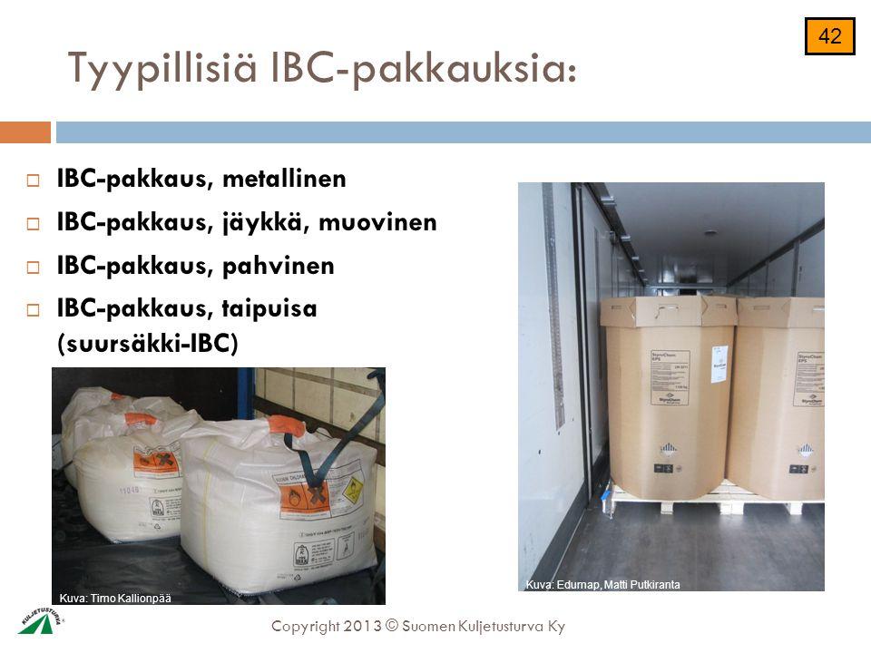 Ibc pakkaus