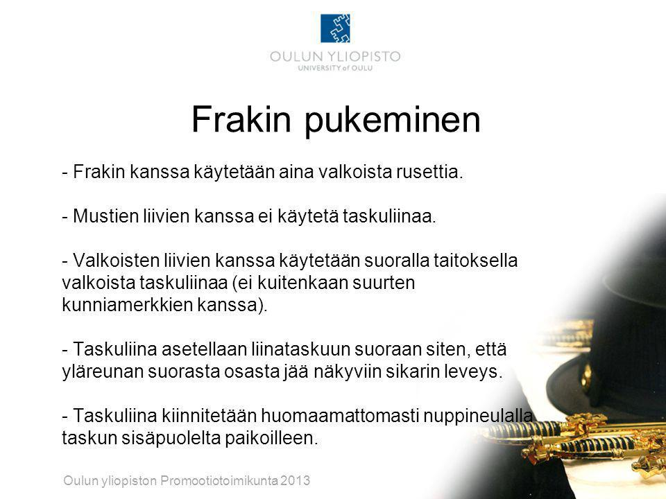 akateeminen juhlapuku Oulu
