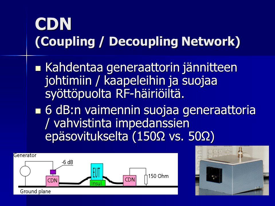 CDN (Coupling / Decoupling Network)