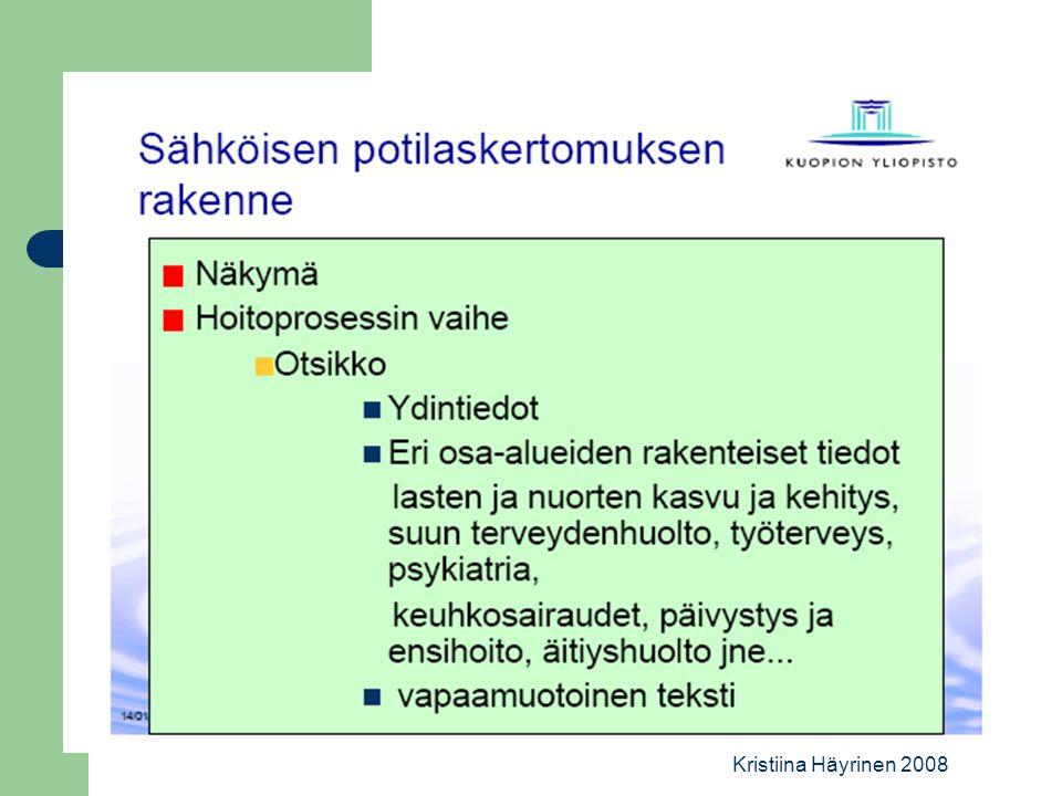 Kristiina Häyrinen 2008