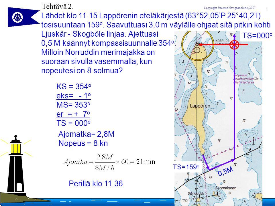 Lähdet klo 11.15 Lappörenin eteläkärjestä (63°52,05'P 25°40,2'I)