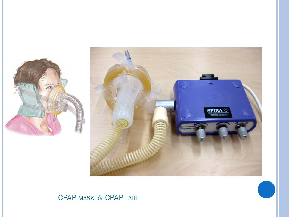 CPAP-maski & CPAP-laite