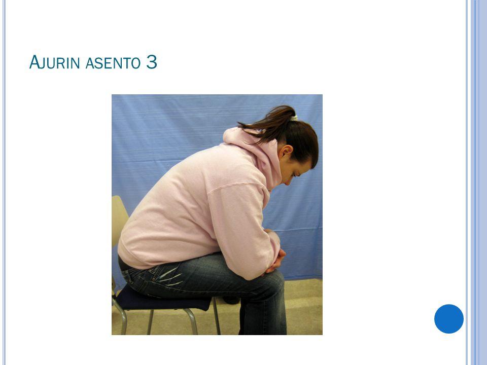 Ajurin asento 3