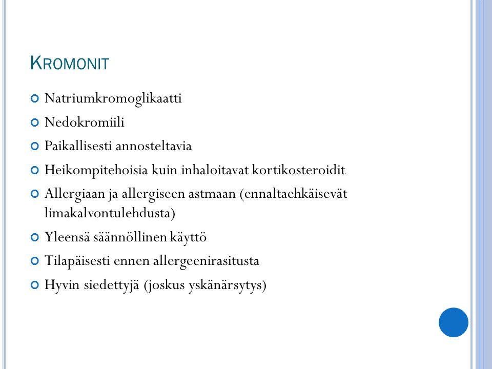 Kromonit Natriumkromoglikaatti Nedokromiili