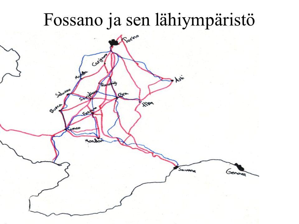 Fossano ja sen lähiympäristö