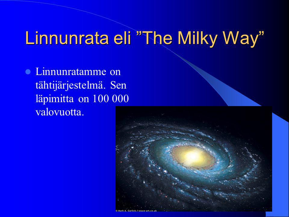 Linnunrata eli The Milky Way