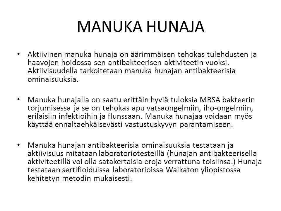 MANUKA HUNAJA