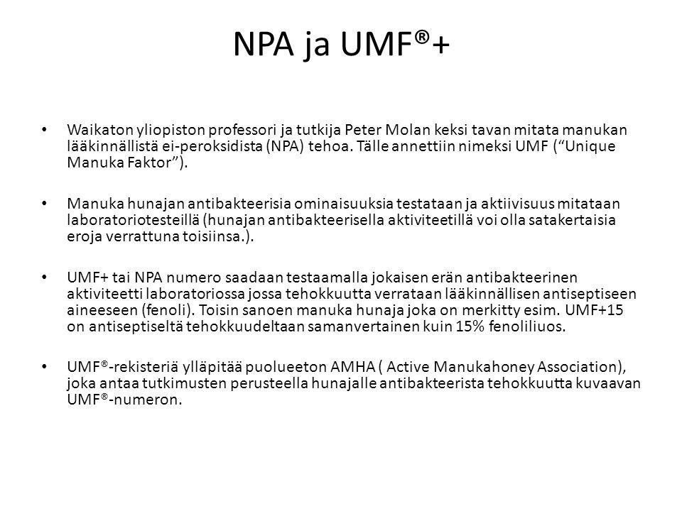 NPA ja UMF®+