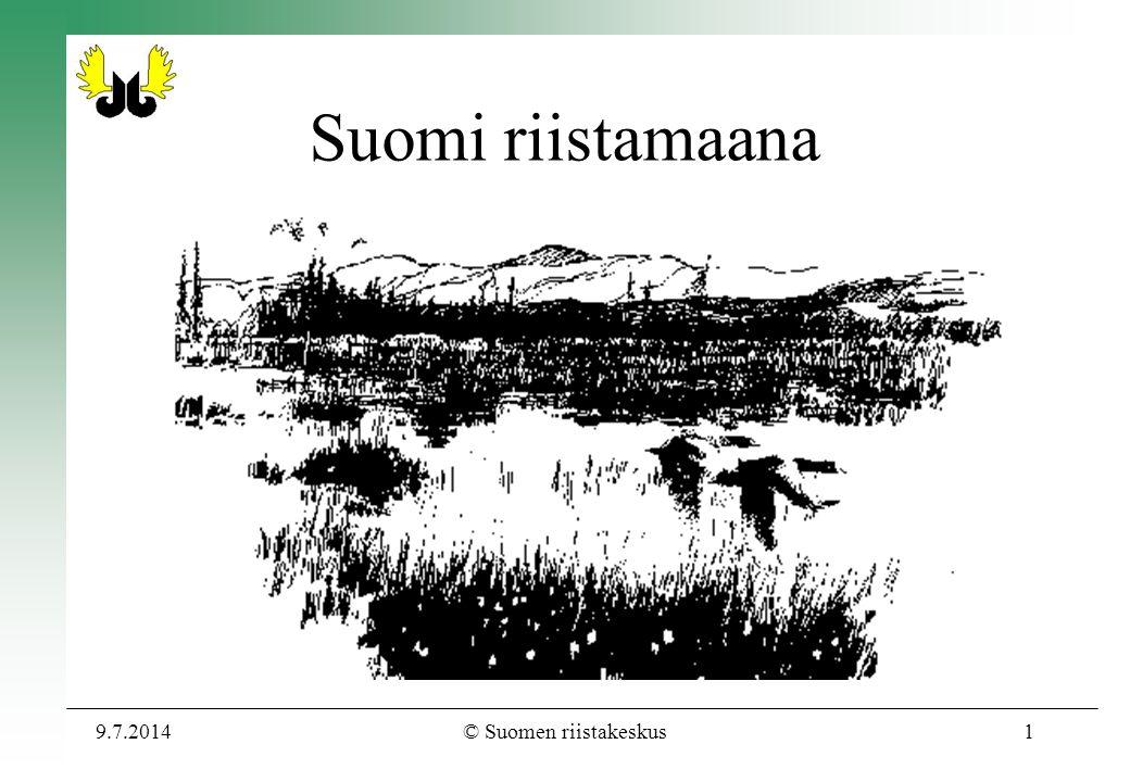 Suomi riistamaana 3.4.2017 © Suomen riistakeskus