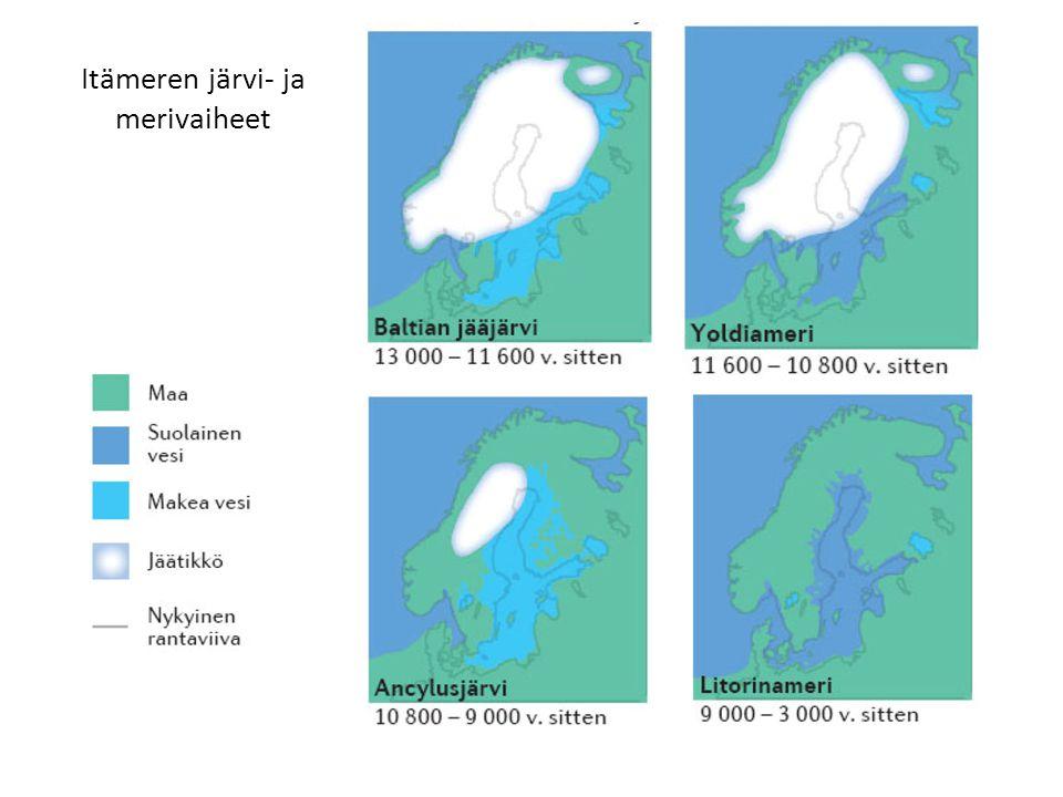 Itämeren järvi- ja merivaiheet