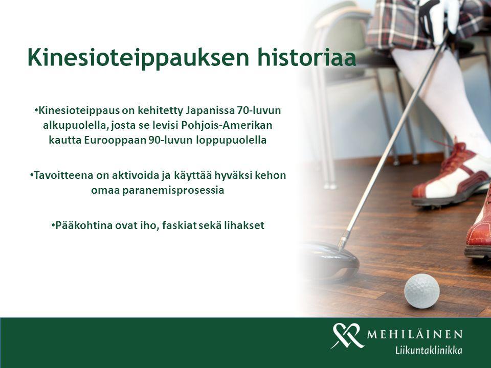 Kinesioteippauksen historiaa