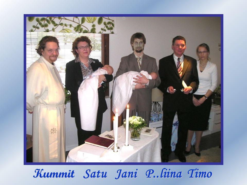 Kummit Satu Jani P..liina Timo