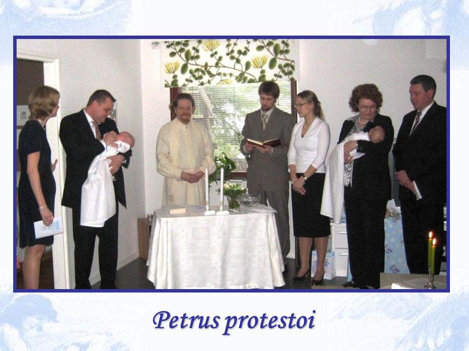 Petrus protestoi