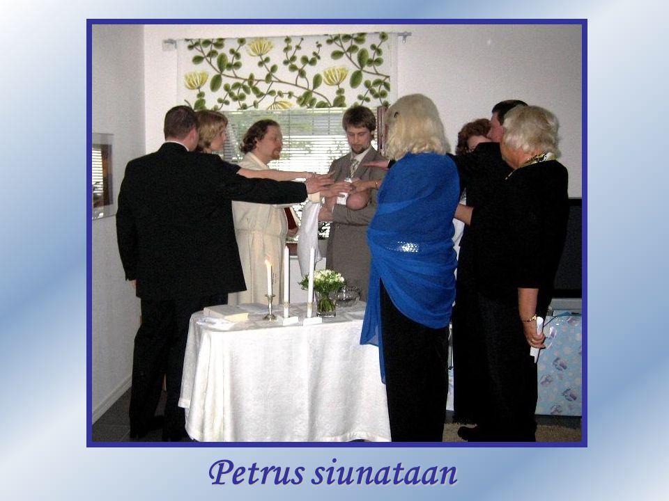 Petrus siunataan