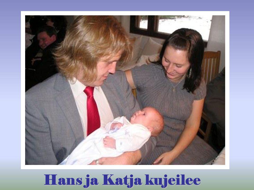 Hans ja Katja kujeilee