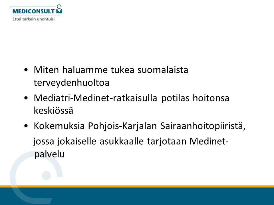 Miten haluamme tukea suomalaista terveydenhuoltoa