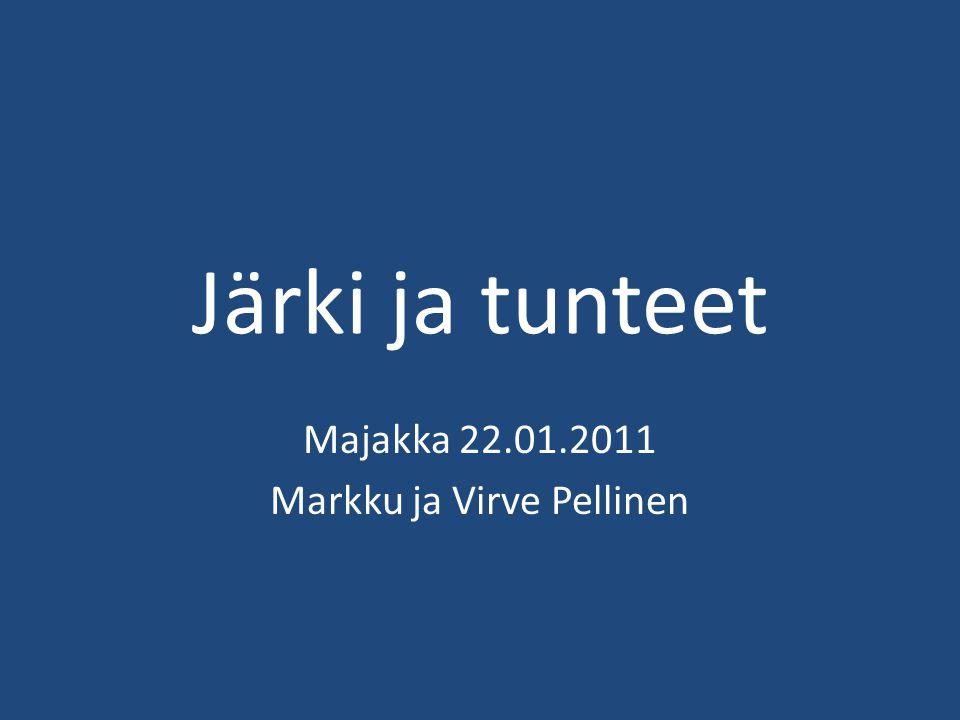 Majakka 22.01.2011 Markku ja Virve Pellinen