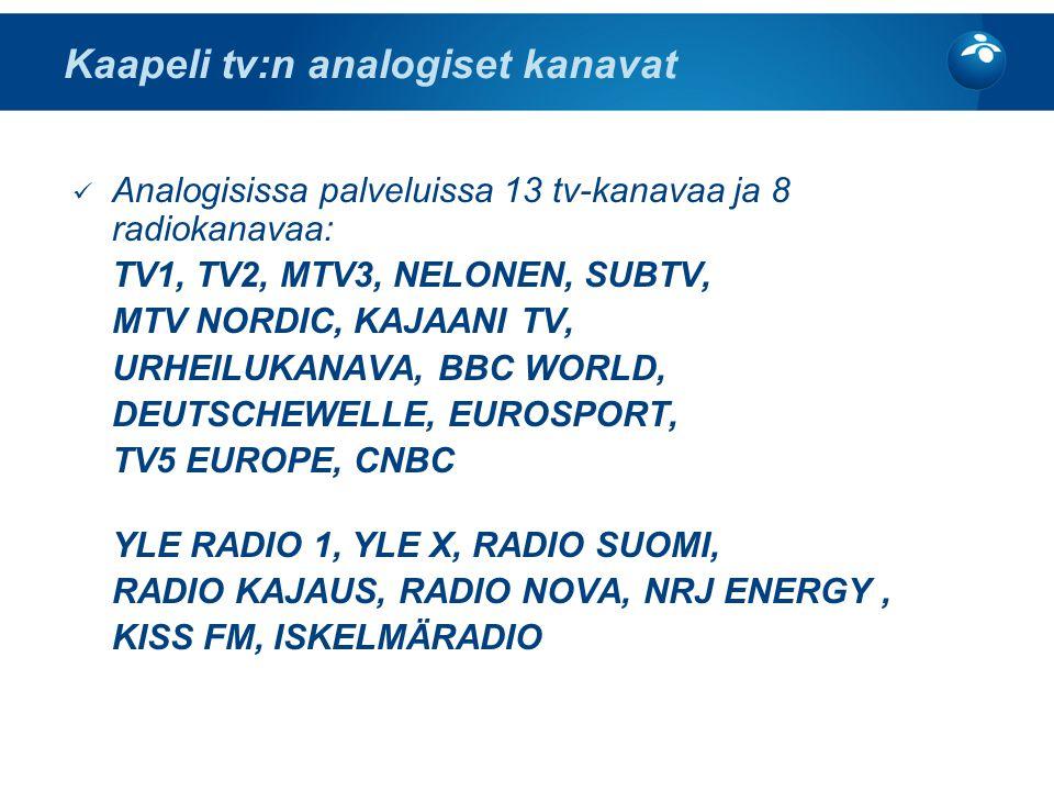 Tvkanavien historia suomessa