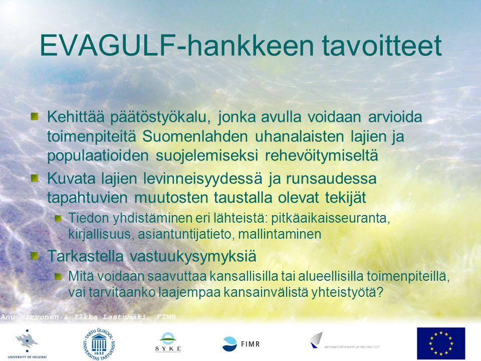 EVAGULF-hankkeen tavoitteet