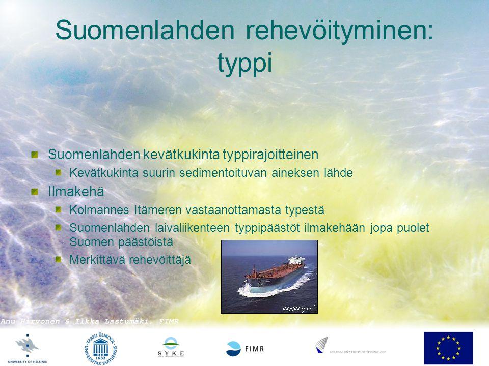 Suomenlahden rehevöityminen: typpi