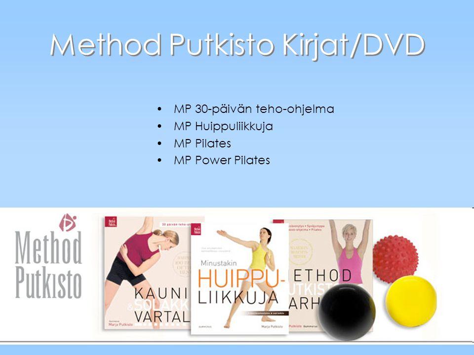 Method Putkisto Kirjat/DVD