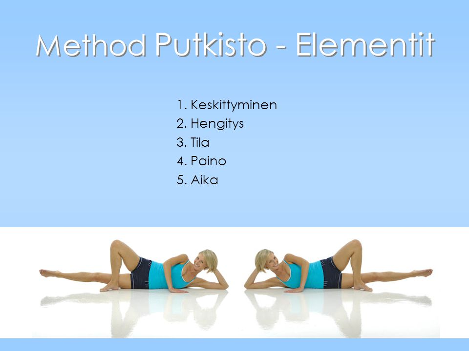 Method Putkisto - Elementit