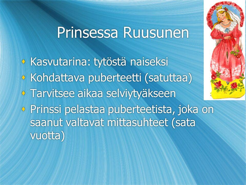 Prinsessa Ruusunen Kasvutarina: tytöstä naiseksi