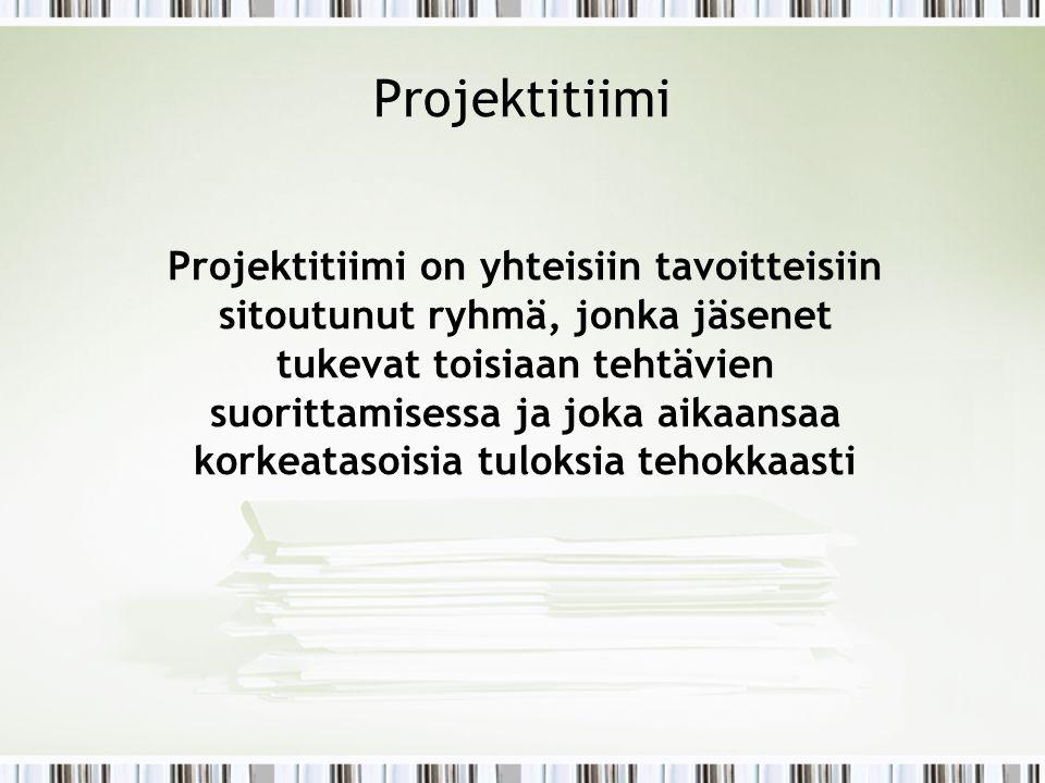 Projektitiimi