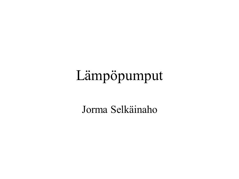 Lämpöpumput Jorma Selkäinaho
