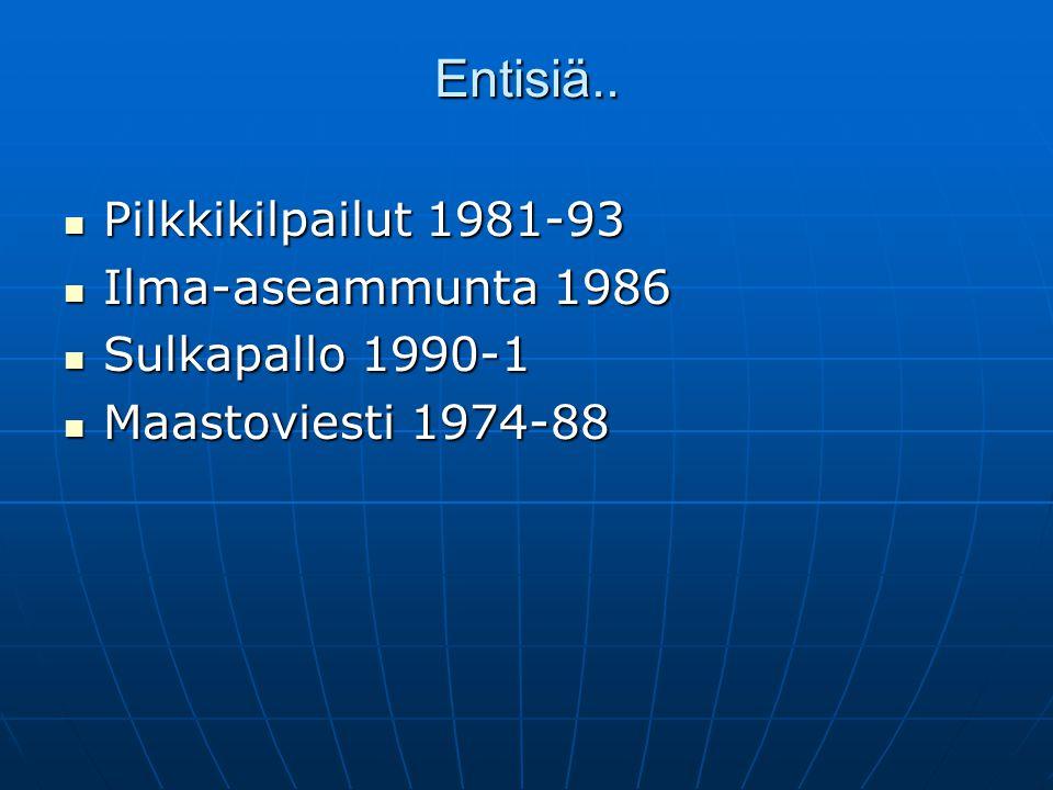 Entisiä.. Pilkkikilpailut 1981-93 Ilma-aseammunta 1986