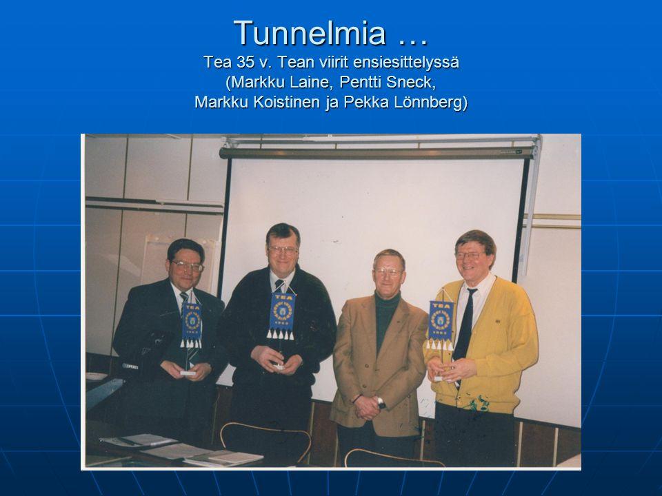 Tunnelmia … Tea 35 v.